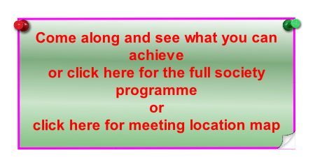 Come along and see what you can achieve 
